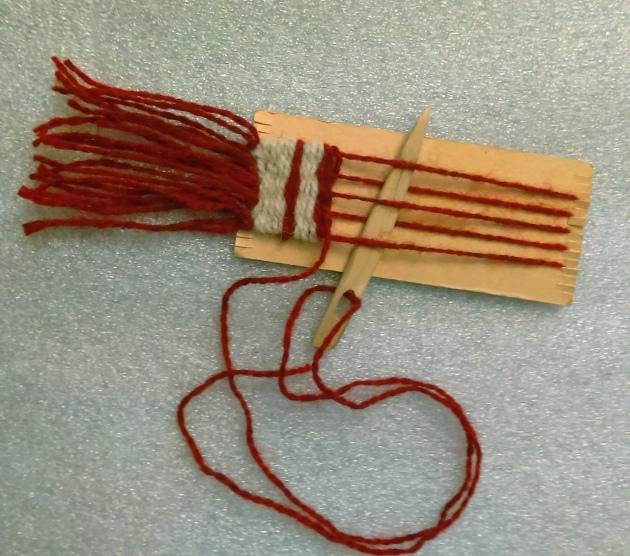 cardboard-loom
